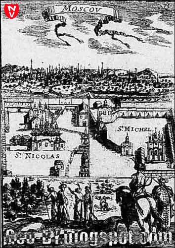 Москва на гравюре 1683 года