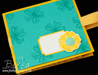 Tag a Bag Gift Bag Baggie Book with Flower Shop Stamped Decoration by Stampin' Up! Demonstrator Bekka Prideaux for her team meeting - find out more about it here - there is a tutorial on its way too!