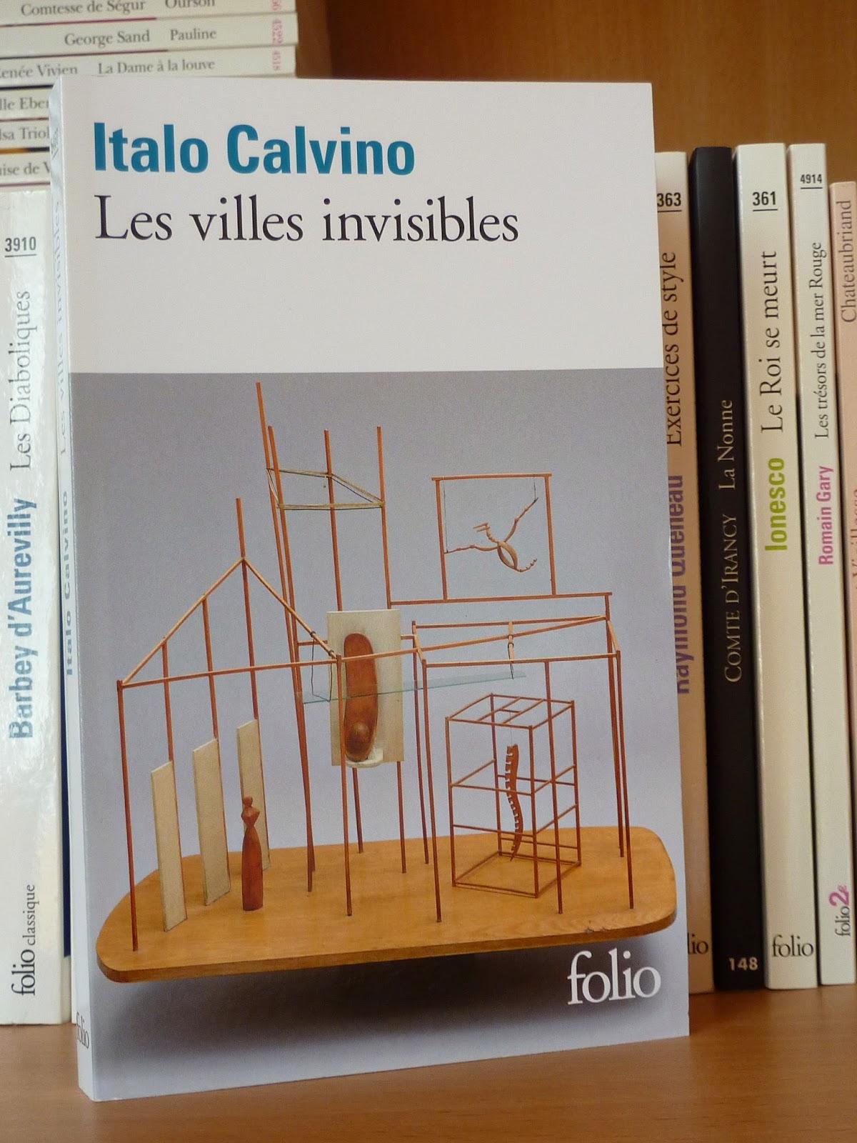 Les villes invisibles - Italo Calvino