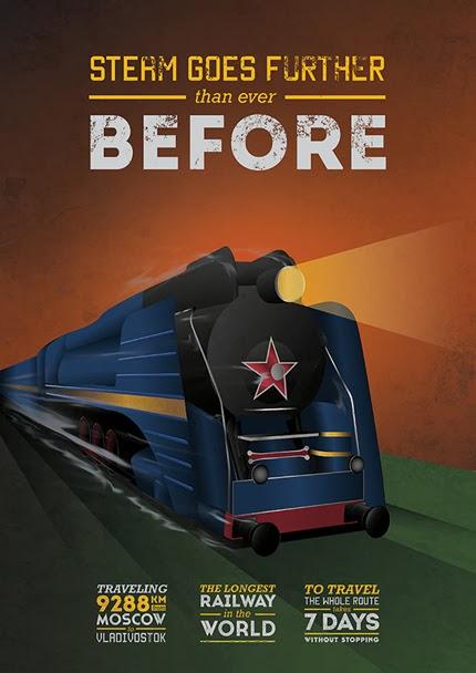Free Vintage Posters, ... Vintage Train Poster
