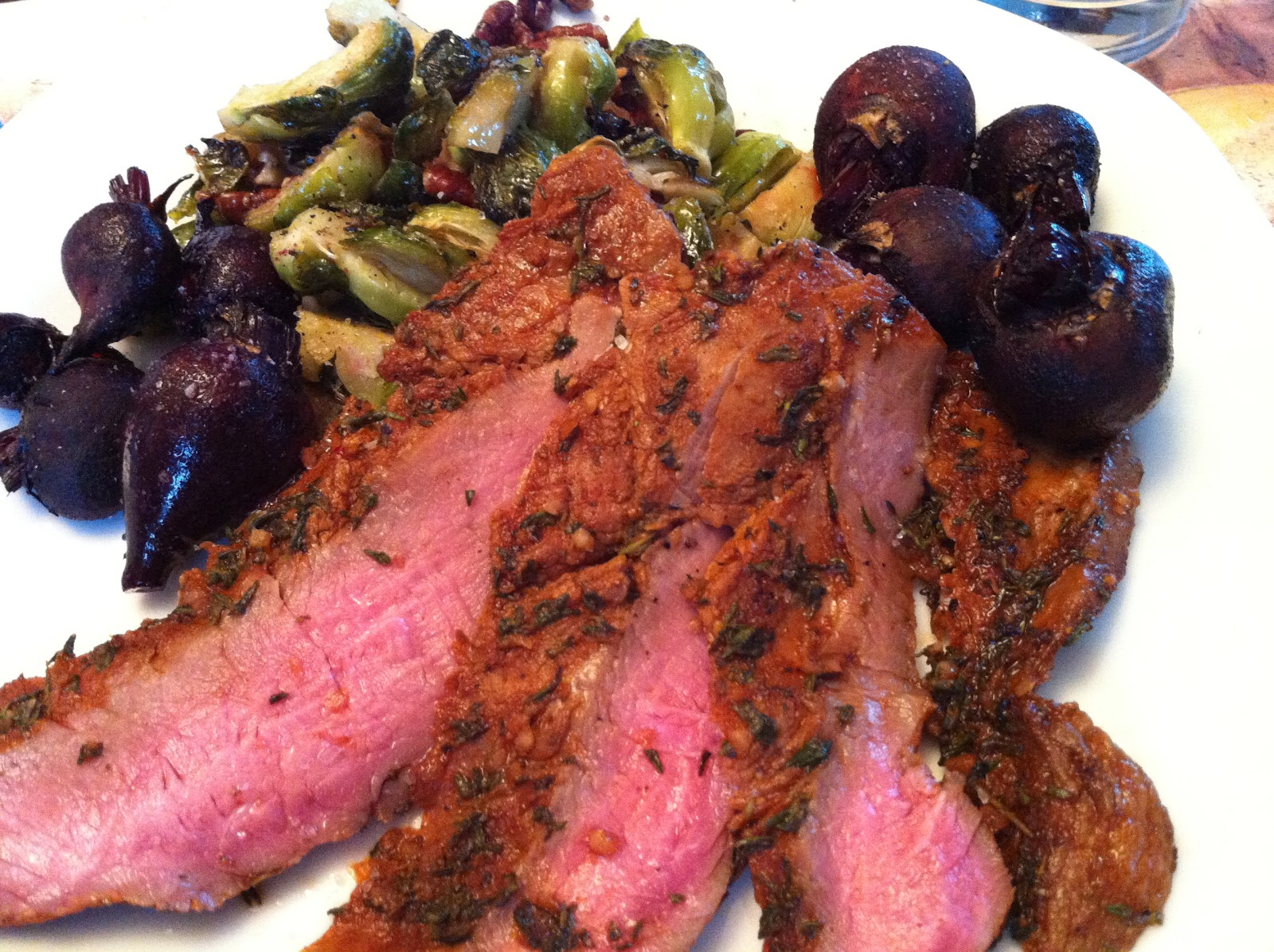 Recipes from 4EveryKitchen: Argentinian Spice Rubbed Flank Steak