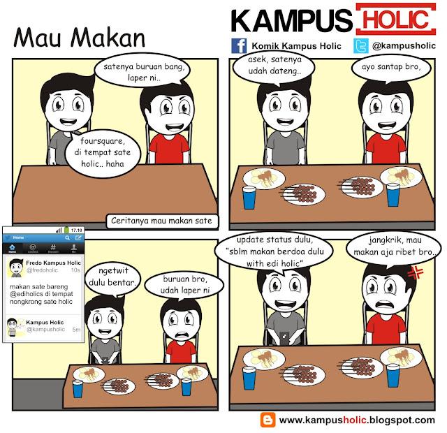 #090 Mau Makan mahasiswa kampus holic