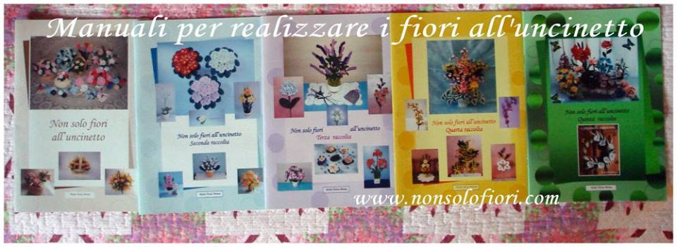 Floral Arrangements and Crocheted Flowers - Fiori all'uncinetto e non solo