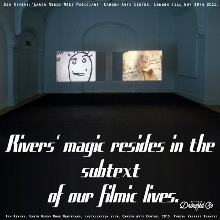 Image of Camden Arts Centre London with Art exhibition review by Drenched Co