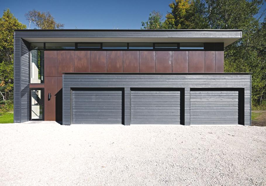 Fresh modern design for Garage designs canada