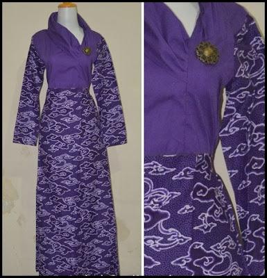 Model Baru Baju Batik Kantor