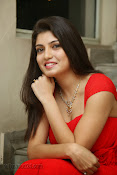 Priyadarshini Glam Pics in Red at Dillunnodu audio-thumbnail-14