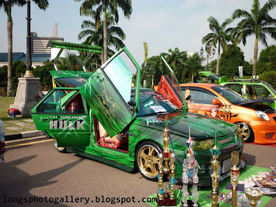 Modified Saga LMST hulk airbrush