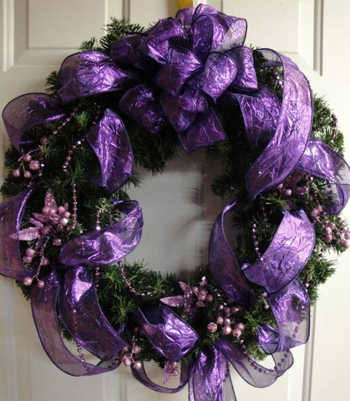 Marsha harris scott royal purple - Is purple a christmas color ...
