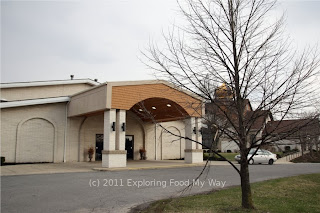 Front Entrance to St. Nicolas Orthodox Church Banquet Hall