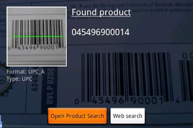 android how to create a barcode scanner