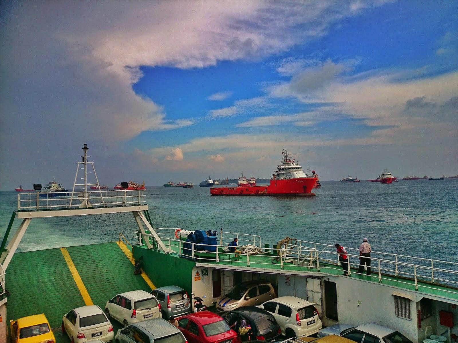 Perjalanan dari Tamparuli ke Terminal Feri Menumbok Sabah