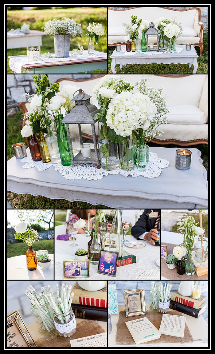 images from vintage inspired wedding