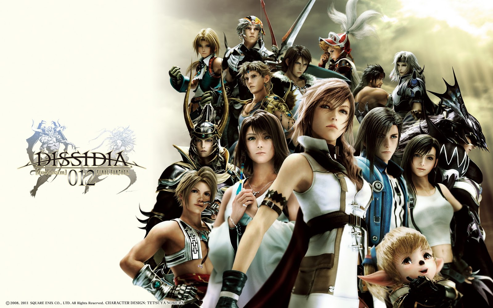 Final Fantasy Dissidia 012 Game