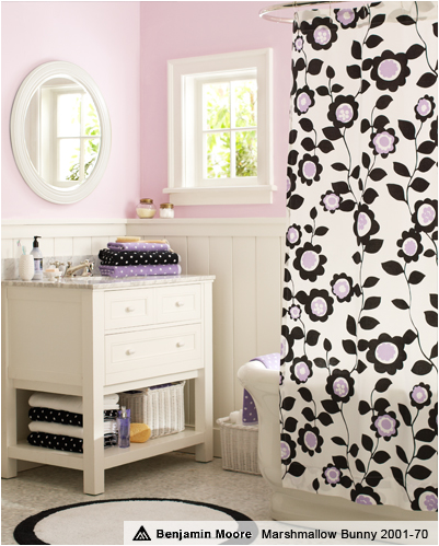 What A Beautiful Teen Girls Bathroom From Pbteens The Ruffle Shower Curtain Is Adorable Below Are More Teen Girls Bathroom Ideas From Pbteens