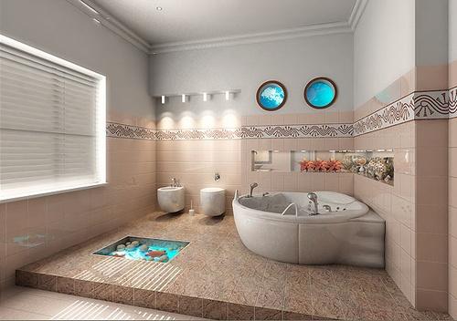 S³ ARQUITETURA E PLANEJAMENTO Decoração banheiros -> Planejamento De Banheiro Com Banheira
