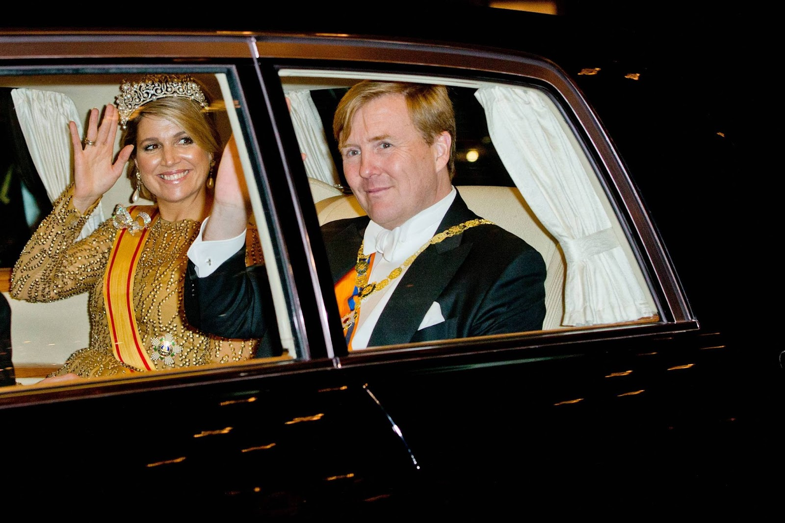 visit Japan - King Willem-Alexander and Queen Maxima