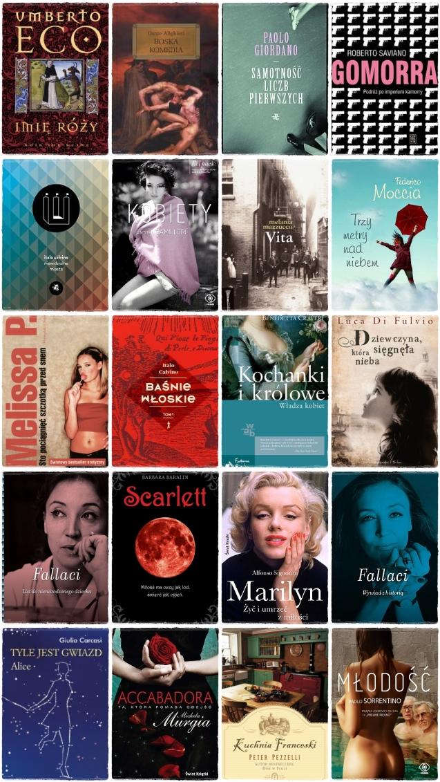20 włoskich książek, które trzeba przeczytać