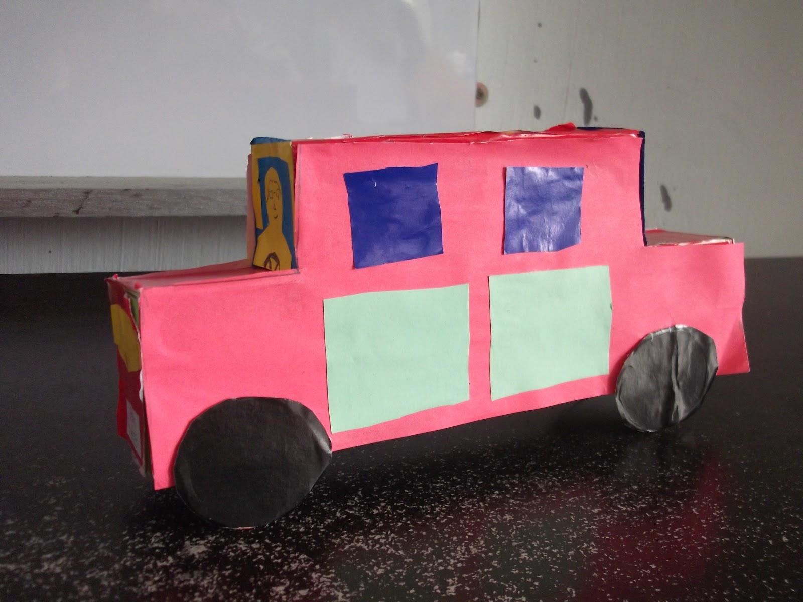 Membentuk dan Membuat Binaan ( kenderaan)