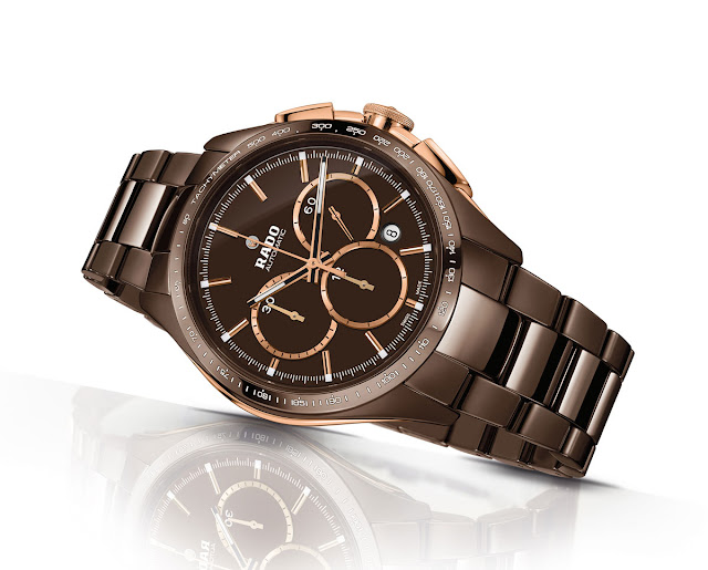 Rado Hyperchrome Brown Ceramic News Timekeepers Club