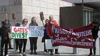 Native Americans protest Bill Gates profiteering from global prison torture at G4S prisons