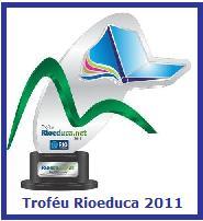 Troféu ganho pelo Ler com Prazer