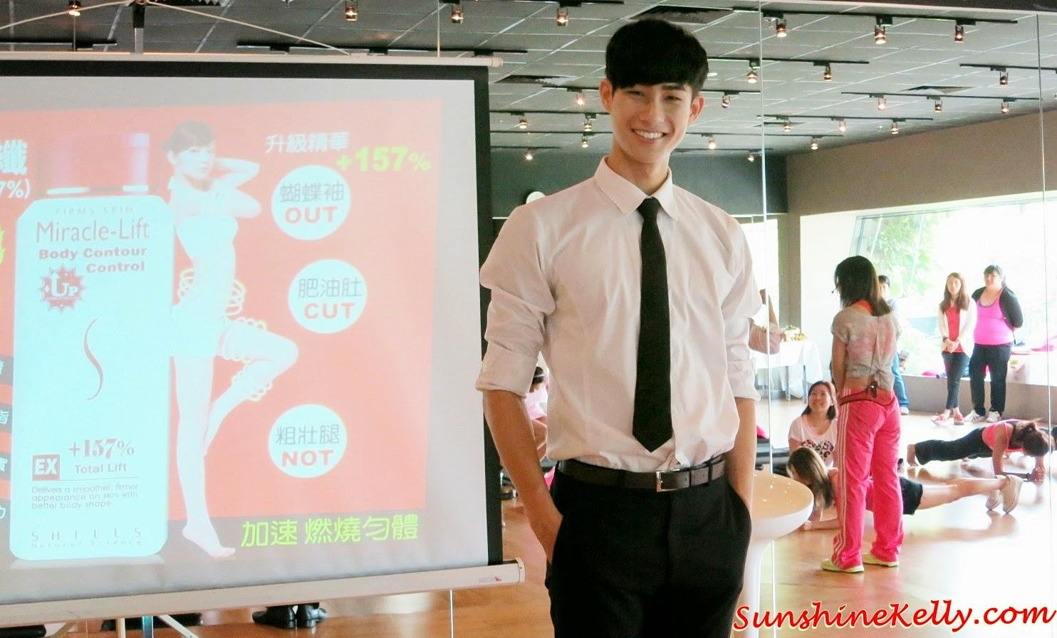 Zach Lu, Taiwanese Beauty Guru, Taiwanese Celebrity, SHILLS Miracle Lift Beauty Workshop, shills, anosa, dot dot, miracle lift