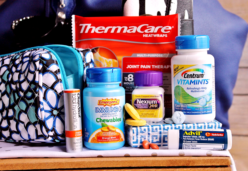 Check out this roundup of Must Have Purse Essentials and #LifeHacks to #BeHealthyForEveryPartOfLife. (ad)