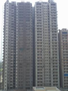 Livingston:: Construction Status on July 2014:-Tower B & F