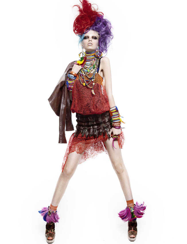 Cyndi Lauper 80 S Revival Carnival Hobo Fashion Roadkill