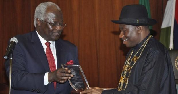 President Jonathan awarded Grand Patron