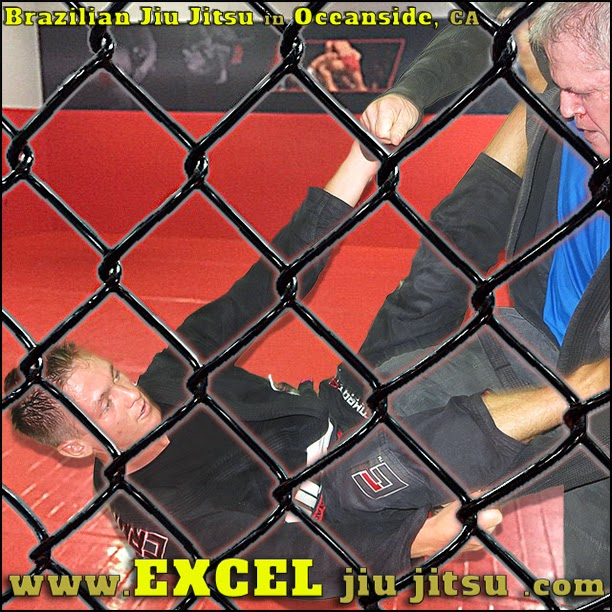 awesome BJJ Brazilian Jiu Jitsu training, at the Excel Jiu Jitsu Oceanside gym