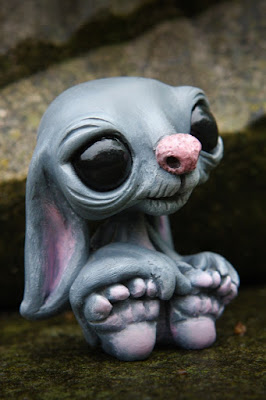 Byte the Bat Resin Figure by Ellice Page & UME Toys