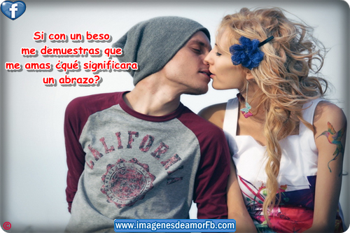 postales bonitas de besos