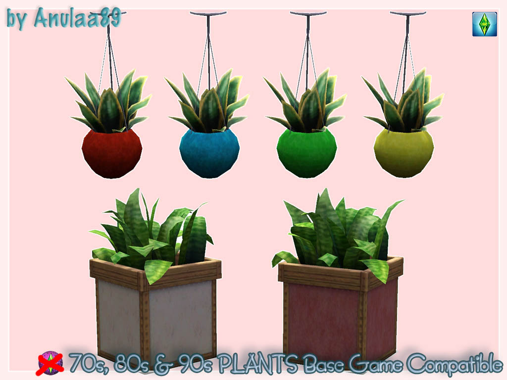 My sims 3 blog sims 3 collage wall decor by michelleab - Plants From 70s 80s 90s Stuff Base Game Compatible By Anulaa89 Download At The Sims 3 World