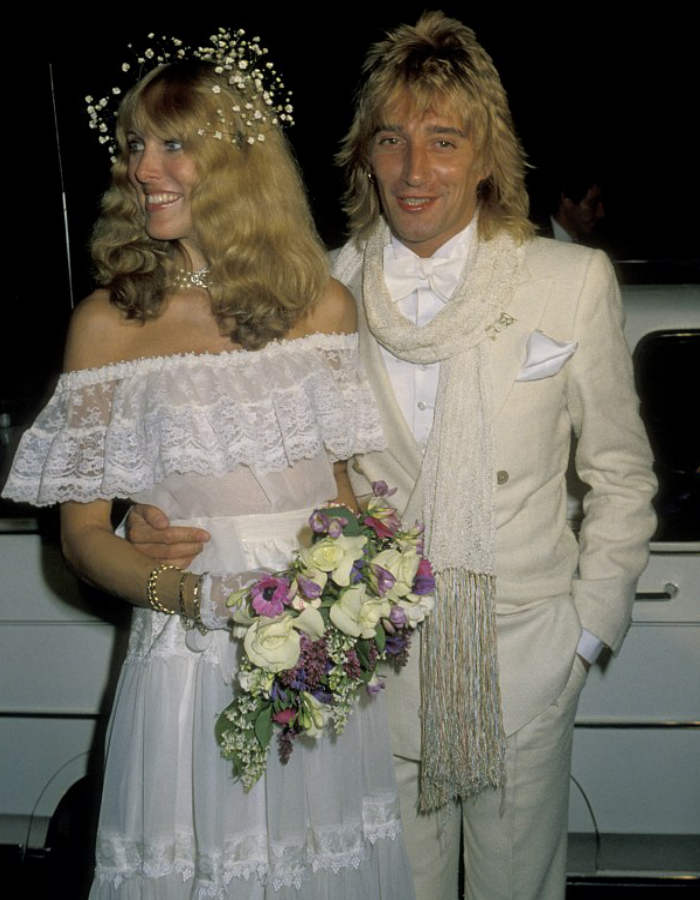 Rod Stewart Wedding