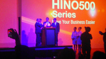 Prosesi Launching Hino New Generation Ranger