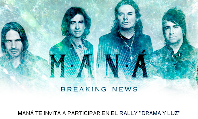 premio conocer y convuvur con banda Mana  promocion mana rally drama y luz warner music