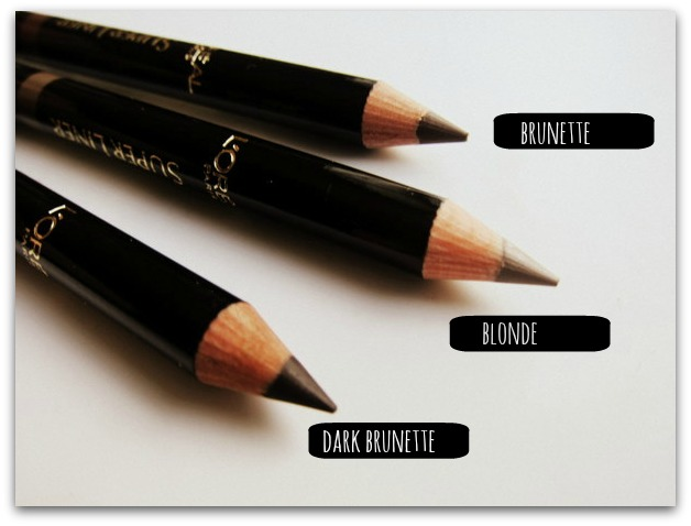 L'Oreal Paris Super Liner Brow Artist Pencils Full Range