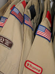MEN OF BLACKPOOL-BOY SCOUT SHIRTS-VINTAGE