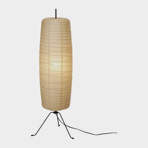 noguchi akari floor lamps vs ikea rice paper floor lamps design. Black Bedroom Furniture Sets. Home Design Ideas