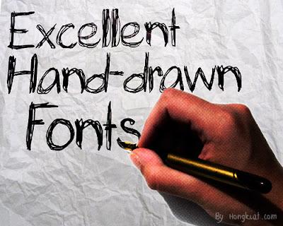 40 tipografias a mano alzada.