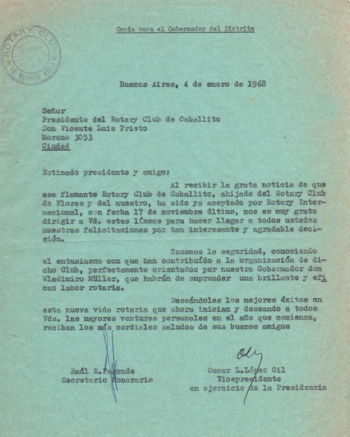 Rotary Club de Caballito 1967-2017