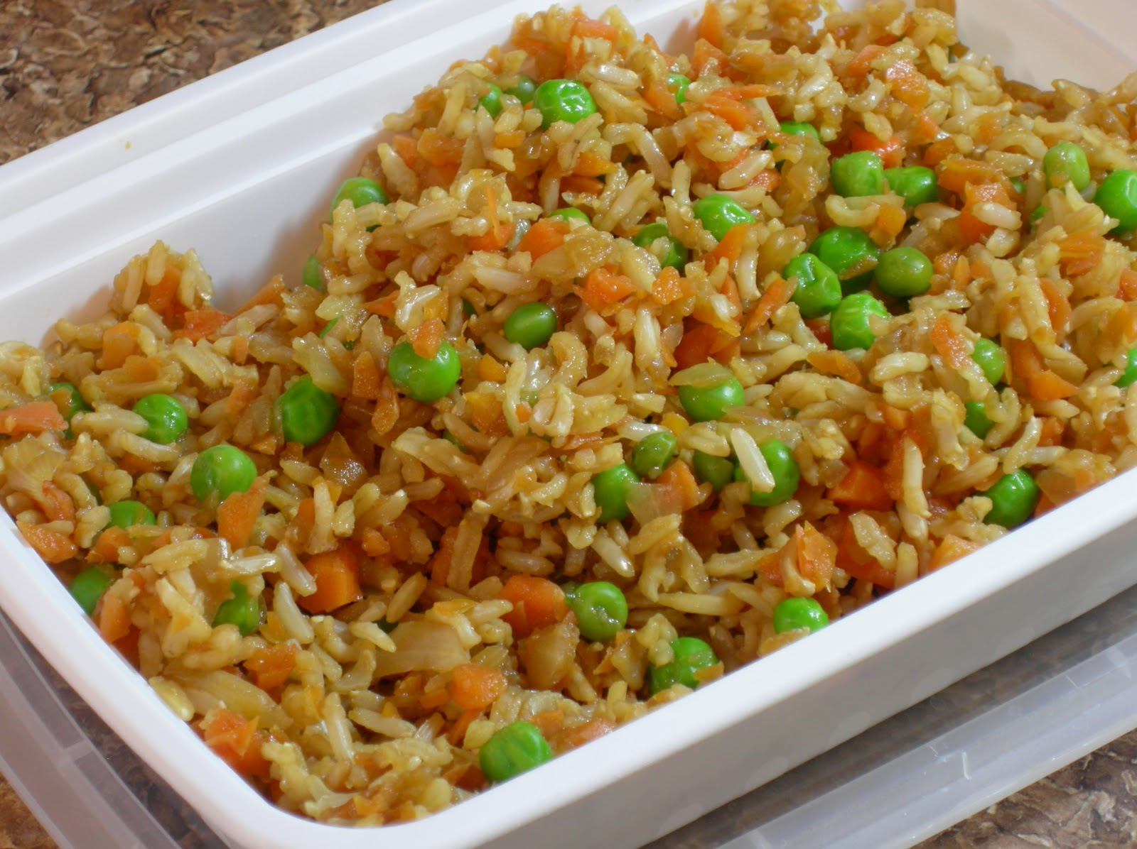 Additive-Free Eats: Chinese Fried Rice w/Homemade Soy Sauce