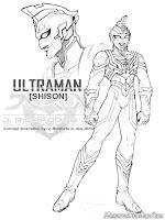 Gambar Ultraman Untuk Diwarnai Anak