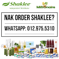Nak Order Shaklee?