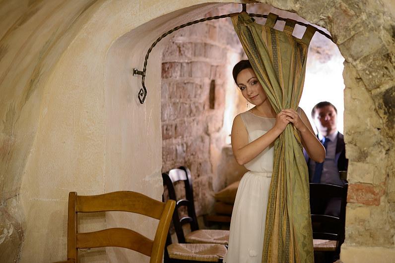 elegantiška vestuvių fotografija