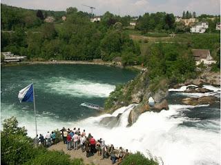 Rhine Water Falls Switzerland