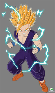 Dragon ball z wallpapers teen gohan super saiyan 2 touched by android 16s final words and enraged by the peaceful androids death gohans rage reaches its limits and transforms him into a new level super thecheapjerseys Image collections