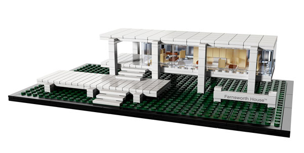 Lego Architecture Farnsworth Custom New Build